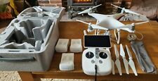 DJI Phantom 4 Advanced Plus drone (with integrated fold up screen) & accessories
