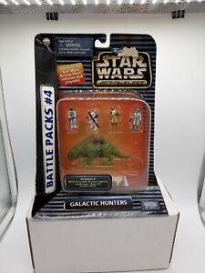 Galactic Hunters Battle Pack #4star wars micro machines set 1996 Sealed