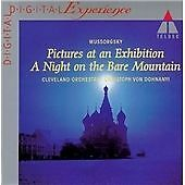Pictures at an Exhibition, Mussorgsky, Dohnanyi, Cleveland , Very Good Import