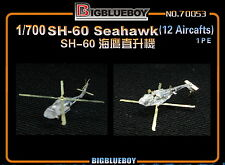 1/700 USN NAVY SH-60 Seahawk (12 Aircrafts) Photo-Etched PE 70053