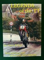 Legends of the TT. Peter Hearsey artwork: Mike Hailwood, Geoff Duke,Joey Dunlop,