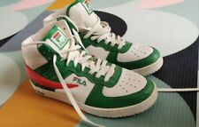 Fila Retro high tops trainers - size 11 uk - red/white/green vintage  12 us 46 e