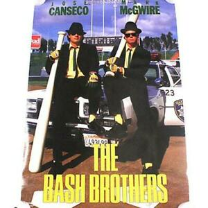 Vintage Jose Canseco Mark McGwire The Bash Brothers Costacos Poster 1988 Basebal