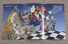 Super Mario Advance 4: Super Mario Bros 3 Game Poster - Nintendo Gameboy Advance