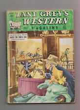 Zane Grey's Western Mag Aug 1950 Pulp Peter Dawson Thomas Thompson John E Kelly