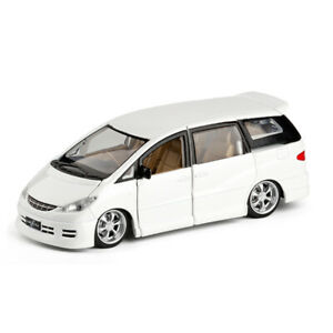 1:32 Toyota Previa MPV Diecast Model Car Toy Collection Sound&Light Free Wheels