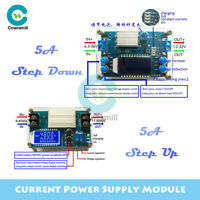5A DC-DC Step-Up/Down CC CV LCD Power Supply Module Buck Boost Converter + Shell