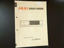 Original Service Manual Schaltplan  Akai HX-A1