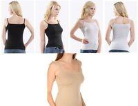 Boody Eco Wear Bamboo Organic Bodywear Cami Top Vest Spaghetti Strap 3 Colours
