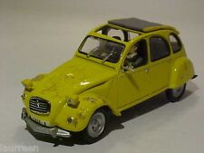 Originally Dented Citroen 2CV 007 Bond Universal Hobbies 1/43 Diecast Mint Loose