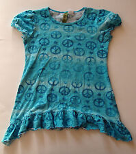 Girls Youth PEACE Top Shirt size large L