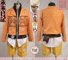 The Future Diary Mirai nikki 1st Amano Yukite Cosplay Costume Custom