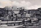 NAPOLI SORRENTO 16 PORTO - BARCHE - HOTEL ALBERGO Cartolina viaggiata 1955