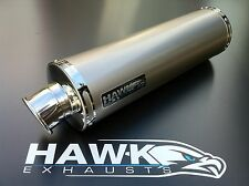Kawasaki ZX12R ZX12 ZX-12R Titanium Round Exhaust Race Can Silencer, Road Legal