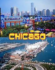 Illinois - CHICAGO - NAVY PIER - Travel Souvenir Flexible Fridge Magnet