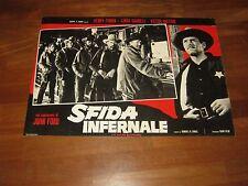 FOTOBUSTA,SFIDA INFERNALE,My Darling Clementine,John Ford.H.Fonda,Mature,western