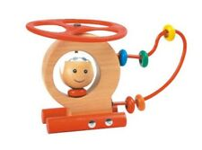 Wooden Helicopter With Wire & Beads Educational Learning Classic Toy New