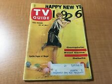 TV Guide Magazine Dec 30-Jan 5 1961 Cynthia Pepper Margie