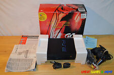 Sony Playstation 2 Console Ps2 - Gran Turismo 3 GT3 A-spec Bundle - Tested
