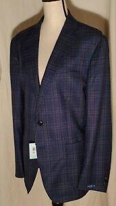 Peter Millar Patron Soft Jacket Coat Starlight Blue MF19RJ01 44R $998