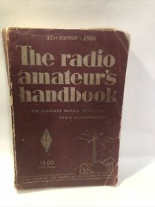 The Radio Amateur's Handbook 1954  The American Radio Relay League 31st edition