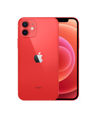 Apple iPhone 12 128GB 5G Red Color UNLOCKED (A2404 REAL DUAL SIM) by FedEx