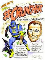 GO SUPERHERO!  Picture YOURSELF as a Superhero!  Fun Commission by Mike Hoffman