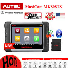 Autel MK808TS OBD2 Bluetooth Diagnostic Scanner TPMS Better MX808 MK808 MK808BT
