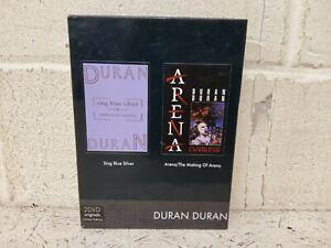 Duran Duran 2 DVD Limited Edition Box Set - Sing Blue Silver, Arena, EMI (L16)