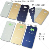 OEM Battery Door Back Glass Cover Housing For Samsung Galaxy S6 / Edge / Plus US