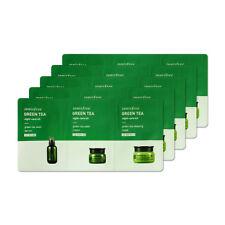 [INNISFREE] Green Tea Night-Care Kit 2ml+2ml+2ml * 5pcs [Sample]