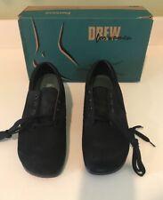 Women's Drew Blazer Black Nubuck  Size 7W Orthopedic Shoes