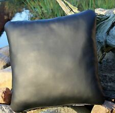 Leather Pillow 50 x 50 Cushion Chair Cover Lounge