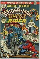 Marvel Team-Up 15 Early Ghost Rider High Grade