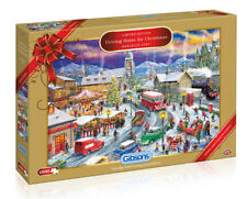 GIBSONS JIGSAW PUZZLE 1000 PIECE Driving Home for Christmas Limited Edition 2018