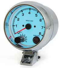 Tachymètre avec shiftlight 3,5 In plasma bleu