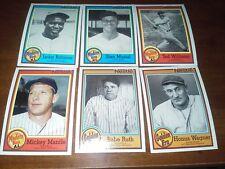 1987 Topps 33 card complete Nestle Set !!!! <<<SHARP>>>