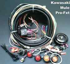 New! Mule Pro FXT Turn Signal Horn Kit Street Legal Lights Kawasaki EPS Camo LED