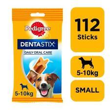 More details for 112 pedigree daily dentastix dental sticks dog treats small dog chews