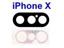 Pour iPhone X Lentille en Verre avec Adhésif pour Caméra Appareil Photo OEM