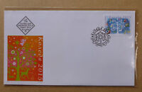 2015 BULGARIA CHRISTMAS FIRST DAY COVER FDC