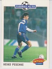 Panini Fussball 92-93 Action Cards #217 Heiko Peschke Bayer 05 Uerdingen