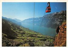 BG28291 flumserberg luftseilbahn unterterzen cable train    switzerland