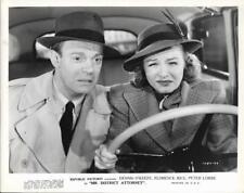 "Dennis O'Keefe & Florence Rice  ""Mr. District Attorney"" Vintage Movie Still"