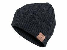 Archos Music Beany Bluetooth Headphone Black Knitted Hat Ip55 Genuine
