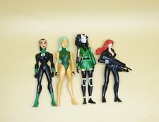 LOT OF 4 DC UNIVERSE YOUNG JUSTICE JLU Katma Tui girl action figure 4""