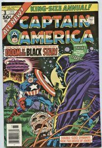Marvel Comics:Captain America KS #3 (1st Series) VF
