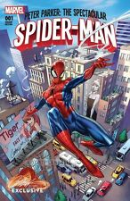 PETER PARKER SPECTACULAR SPIDERMAN 1 J SCOTT CAMPBELL VARIANT A AMAZING NM