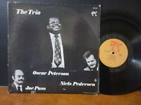 The Oscar Peterson Trio - The Trio 1974 Pablo Vinyl LP Joe Pass NHOP VG+ Guitar!