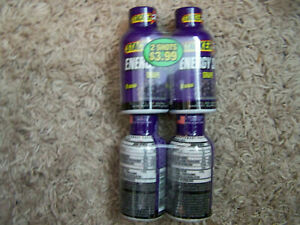 NEW SEALED STACKER TWO 2 ENERGY SHOT GRAPE BOTTLE 12 COUNT 2 oz EXP 2022